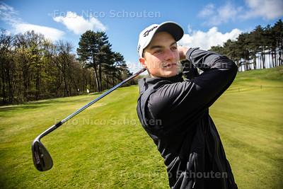 golfer Severiano Prins - WASSENAAR 24 APRIL 2016 - FOTO NICO SCHOUTEN