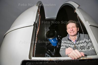 Peter Saarloos, uitgever van de maankalender - RIJSWIJK 21 DECEMBER 2016 - FOTO NICO SCHOUTEN