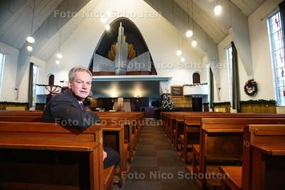 Maarten Groen in de Jeruzalemkerk - DEN HAAG 16 DECEMBER 2016 - FOTO NICO SCHOUTEN