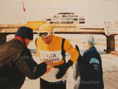 Anton van der Knaap heeft meerdere elfstedentochten verreden. oude foto - DEN HAAG 22 DECEMBER 2016 - FOTO NICO SCHOUTEN