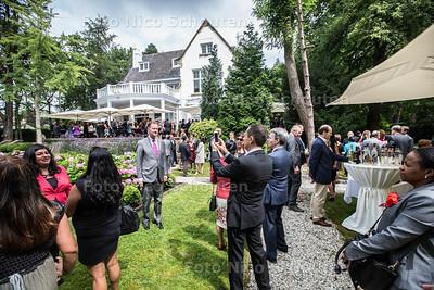 feest residentie van de ambassadeur van Peru - WASSENAAR 28 JULI 2016 - FOTO NICO SCHOUTEN