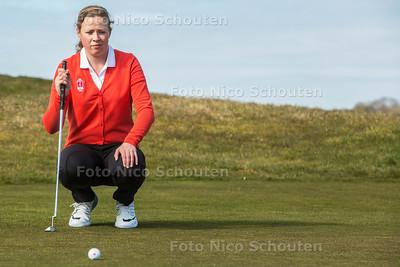 Golf, Annemiek Dompeling - WASSENAAR 20 MAART 2016 - FOTO NICO SCHOUTEN