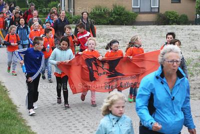 Delftse avondvierdaagse - Lookwatering - DEN HOORN 30 MEI 2016 - FOTO NICO SCHOUTEN