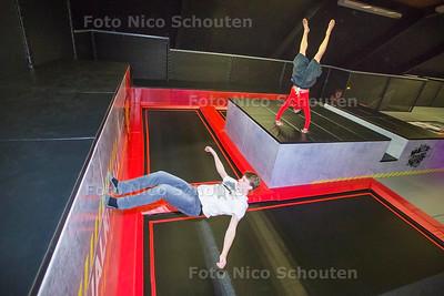Jump XL op de Salomeschouw - ZOETERMEER 23 FUBRUARI 2017 - FOTO NICO SCHOUTEN