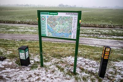 Recratieve routes Midden-Delfland - SCHIPLUIDEN 7 JANUARI 2017 - FOTO NICO SCHOUTEN