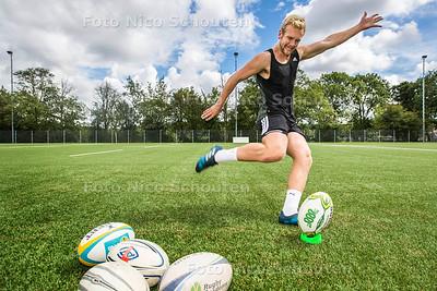 Rugbyer David Weersma HRC - DEN HAAG 22 JULI  2017 - FOTO NICO SCHOUTEN