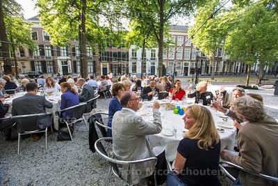 Lange Voorhout Diner - DEN HAAG 16 JUNI  2017 - FOTO NICO SCHOUTEN