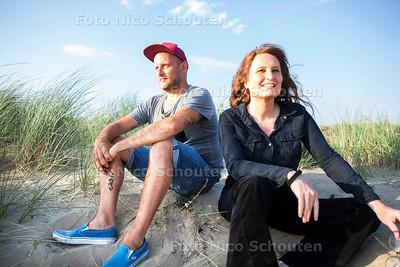 Till Bene en Nicolette van der Werff - voor zomerrubriek - DEN HAAG 17 JUNI 2017 - FOTO NICO SCHOUTEN