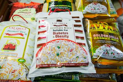 Basmati rijst op de Paul Krugerlaan - DEN HAAG 28 MAART 2017 - FOTO NICO SCHOUTEN