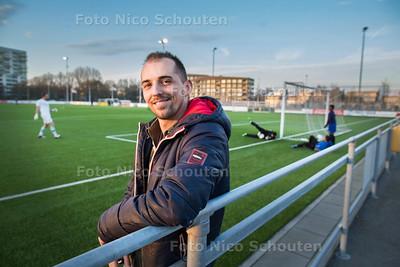 voetballer Mitchell de Bas van Die Haghe - DEN HAAG 28 MAART 2017 - FOTO NICO SCHOUTEN