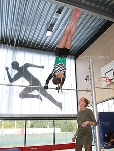 Opening niewe gymzalen van Rijswijks Lyceum en Van Vredenburch College - DEN HAAG 26 OKTOBER 2017 - FOTO NICO SCHOUTEN