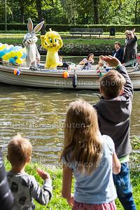 Vlietdagen in Leidschendam-Voorburg - Drukte op de Vliet bij Park Vreugd en Rust -  VOORBURG 17 SEPTEMBER 2017 2017 - FOTO NICO SCHOUTEN