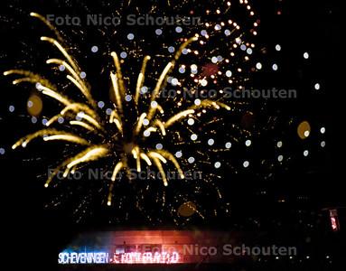 VUURWERK SCHEVENINGEN (OOSTENRIJK) 17 AUGUSTUS 2001; FOTO: NICO SCHOUTEN