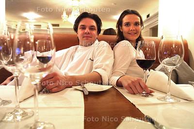 """HC - MARC SMEETS (L) EN MEDE EIGENAAR VAN HOTEL """"MARC SMEETS"""" - DEN HAAG 28 NOVEMBER 2002- FOTO: NICO SCHOUTEN"""