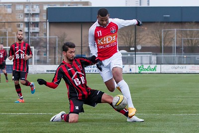 11-01-2015: Voetbal: Alexandria '66 v PFC: Rotterdam  Oefenwedstrijd