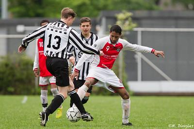 16-05-2015: Alexandria '66 B2-Excelsior '20 B11e klasse seizoen 2014/2015 nacompetitie promotie