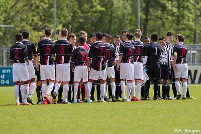 09-05-2015: Excelsior '20 B1-Alexandria '66 B2 1e klasse seizoen 2014/2015 nacompetitie promotie