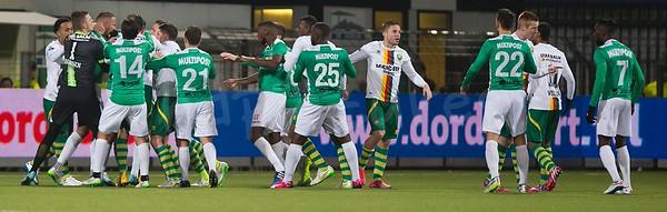 07-02-2015: Voetbal: FC Dordrecht v ADO Den Haag: Dordrecht Eredivisie 2014/2015