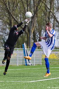 02-05-2015: Schoonhoven B1-Alexandria '66 B2 1e klasse seizoen 2014/2015