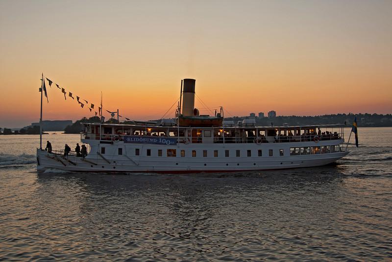 100 Year old ship, S/S Blidösund built 1910
