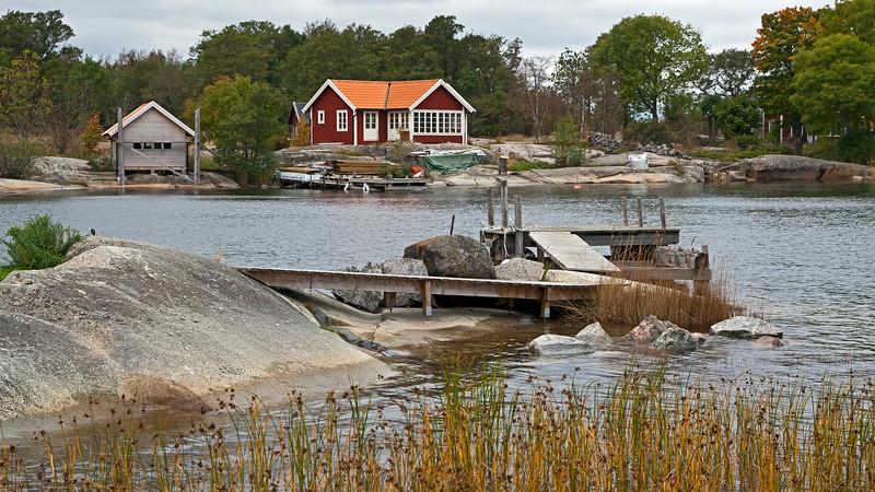 Rödlöga in autumn, Stockholm archipelago
