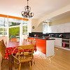 Colourful kitchen - dining room