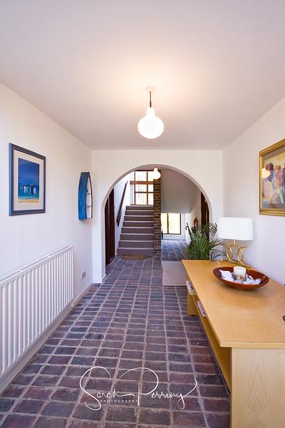 Regal looking hallway