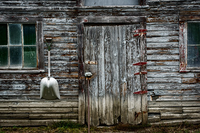 Outside the Weathered Barn