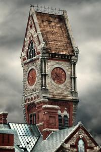 Worcester Massachusetts Clock Tower