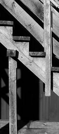 Rustic Stair