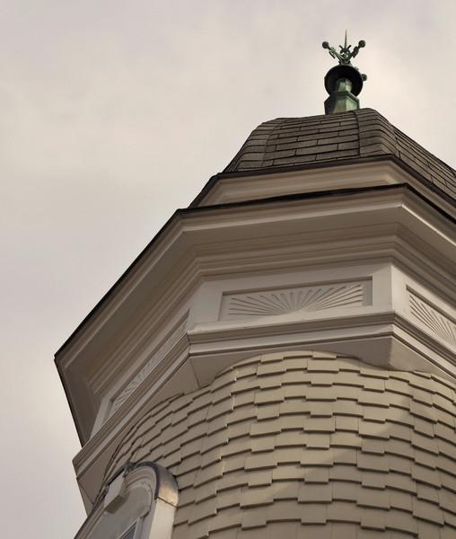 Shadows on Shingles<br /> First Baptist Church<br /> East Greenwich, RI