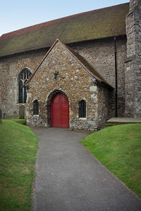 English Church Entrance