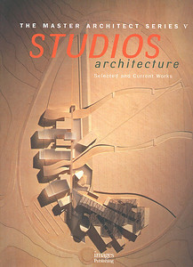 Book Cover, STUDIOS Architecture monograph