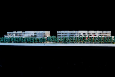 1/16th scale Architectural model