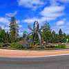Evolution Roundabout in Bned Oregon