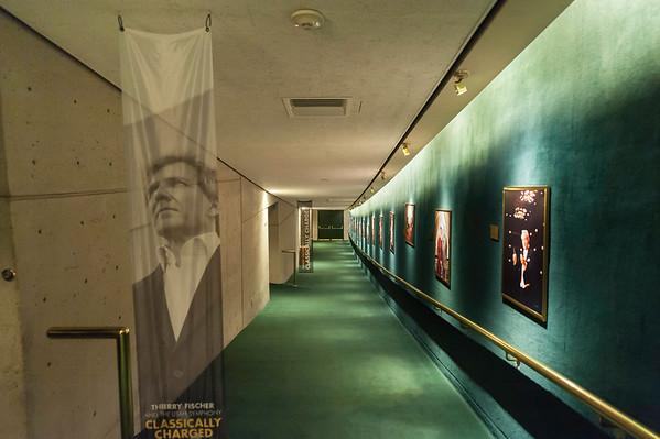 Abravanel Hall- main floor corridor to the symphony hall