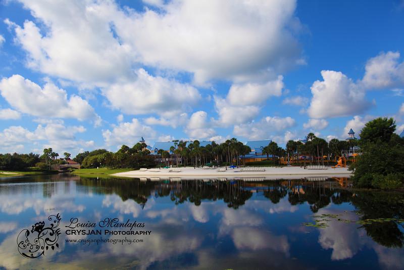 Carribean Beach Resort in Daylight