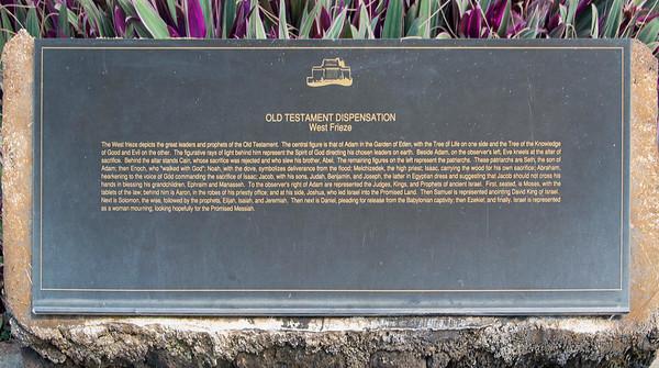 Description of the west frieze