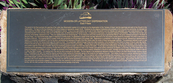 Description of the east frieze