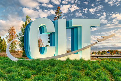 CLT Airport Sign