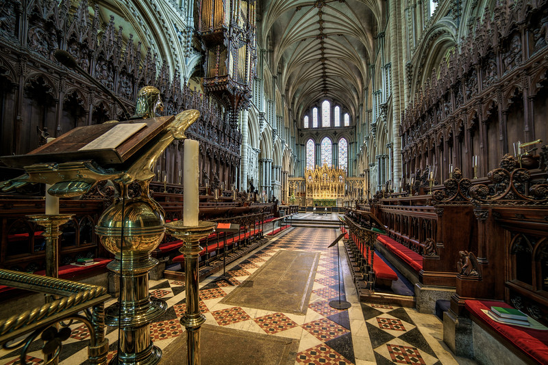 Ely Cathedral Lectern by David Stoddart