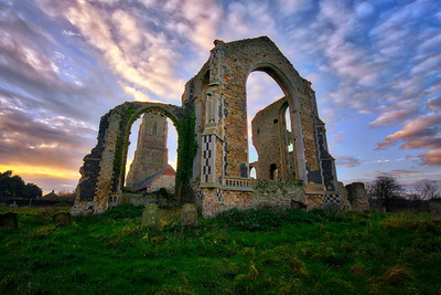 Covehithe St Andrews Church Suffolk by David Stoddart
