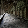 Corridor of Power at Canterbury Cathedral. By David Stoddart