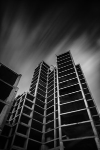 #Derelict Car Park. SONY A7R #LongExposure of 45 seconds taken with the #LeeBigStopper. ISO 100, Aperture F8, Bulb Mode, Canon 16-35mm Lens with Metabones Adaptor. Processed using Nik Silver Efex and Photoshop. #Urbex. #ArtHakker