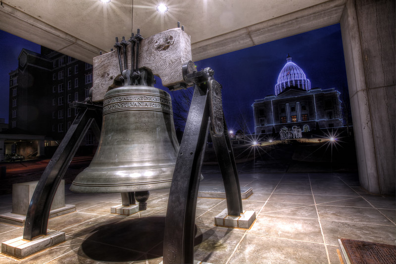 The Liberty Bell - Arkansas State Capitol