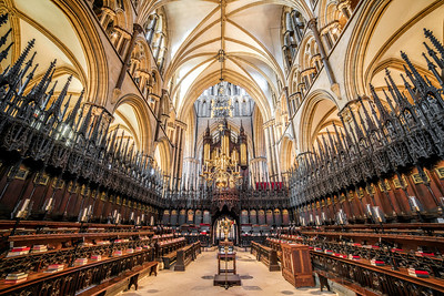 Lincoln Cathedral Choir by David Stoddart
