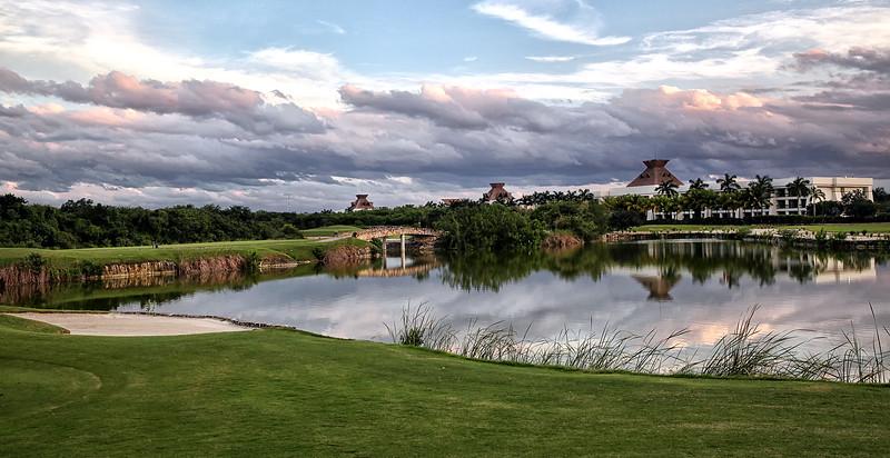 El Manglar golf course in Riviera Maya - Playa del Carmen , Mexico