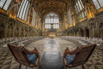 Ely Cathedral Lady Chapel, The best seats in the house! By David Stoddart