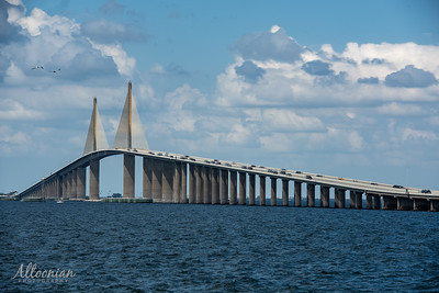 Sunshine Skyway Bridge, Tampa Bay, FL