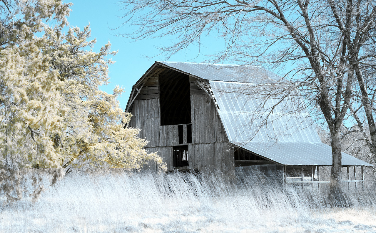 Old Barn in the Ouachitas of Arkansas